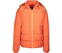 Winterjacke orange