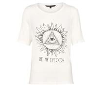 T-Shirt 'vmvega' offwhite