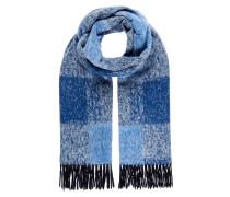 Schal 'Frame Big plaid' blau