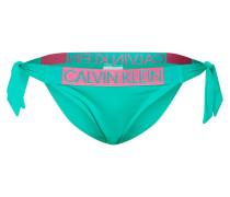 Bikinihose grün / pink