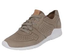 Sneaker 'Tye' taupe / weiß