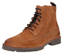 Stiefel 'slhrick Brogue Suede Boot W'