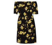 Kleid gelb / schwarz