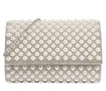 Tasche 'narzole' silber / weiß