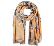 Baumwoll-Schal mit Blumen-Muster