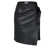 Lederrock schwarz