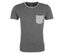 Shirt greige / graumeliert