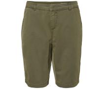 NW Lange Shorts oliv