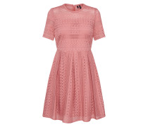 Kleid 'vmhoney Lace Pleated S/S Dress Exp'