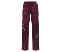 Pyjamahose 'Favourites Trend 2' weinrot