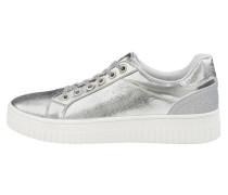 Sneaker Low silber