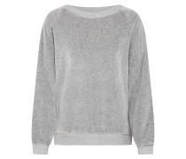 Sweatshirt 'isacboy' graumeliert