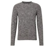 Pullover graumeliert / schwarzmeliert