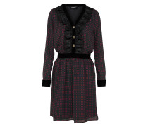 Casual Kleid rot / schwarz