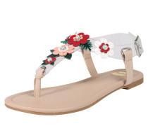 Sandalen mischfarben / weiß