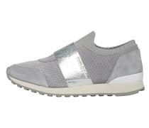 Slip On-Sneaker graumeliert