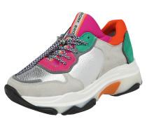 Sneaker Low mischfarben