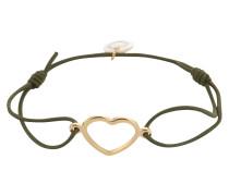 Armband 'True Love' gold / oliv
