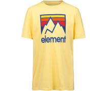 T-Shirt ' Link' gelb