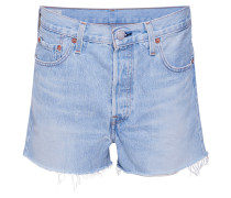Shorts '501 High Rise' blue denim