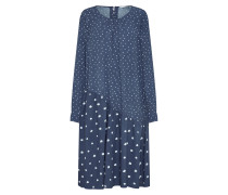 Kleid 'Numedora' dunkelblau / weiß
