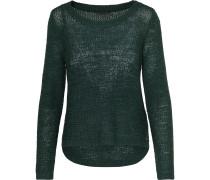 Strickpullover 'ONLGeena' smaragd
