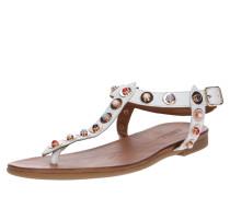 Sandale 'kankan' weiß
