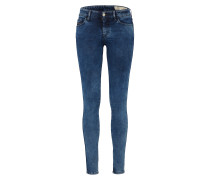 'Slandy' Jeans Skinny Fit 680I blue denim