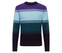 Pullover 'jorjake' lila / hellblau