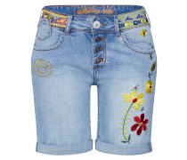 Shorts 'denim_Habana Flores' blue denim
