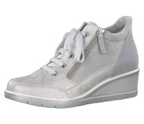 Sneakers High silber