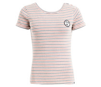 Shirt 'madigan' blau / rot