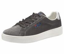 Sneaker 'Upstage Velvet' dunkelgrau / silber