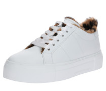 Sneaker 'Big' braun / weiß