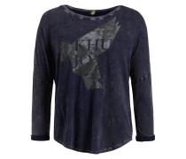 T-Shirt 'yule' navy / taupe