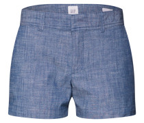 Shorts 'city Chambray' indigo