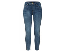 Jeans 'Scarlett High Zip' blau