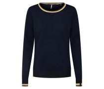 Pullover nachtblau / gelb