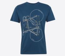 T-Shirt 'with printed bike - Gots'