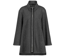 Outdoorjacke Wolle Cape mit Wolle