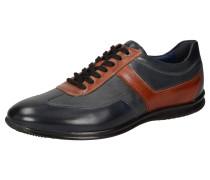 Sneaker 'Monaim-700' kobaltblau / cognac