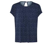 Shirt 'nice' nachtblau / weiß