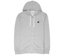 Kapuzenjacke 'All Day' grau