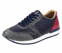 Sneaker marine / bordeaux