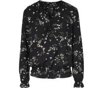 Bluse mischfarben / schwarz