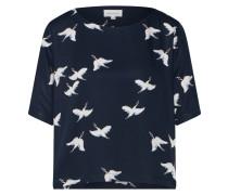 Shirt navy / pastellpink