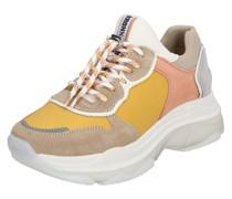 Sneaker 'Baisley' beige / taupe / gelb