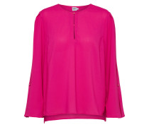Casual 'blouse With Pleat Sle' pink
