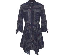 Kleid 'patchwork / Navy Blazer'