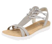 Sandale 'Schimmer' grau